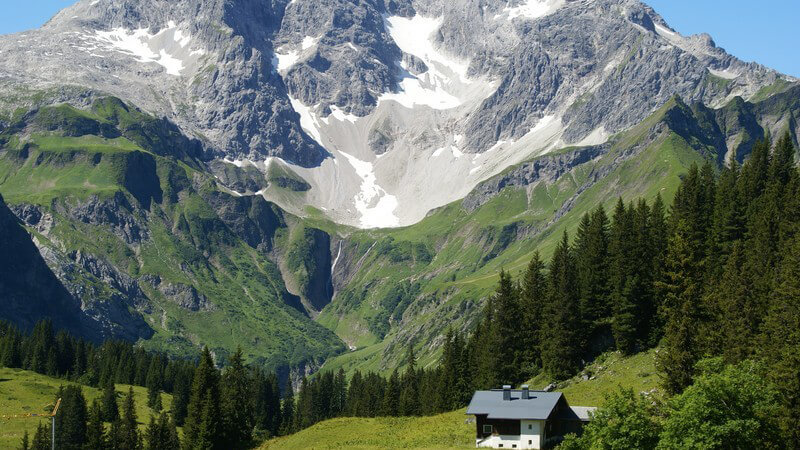Naturaufnahme Bergpanorama