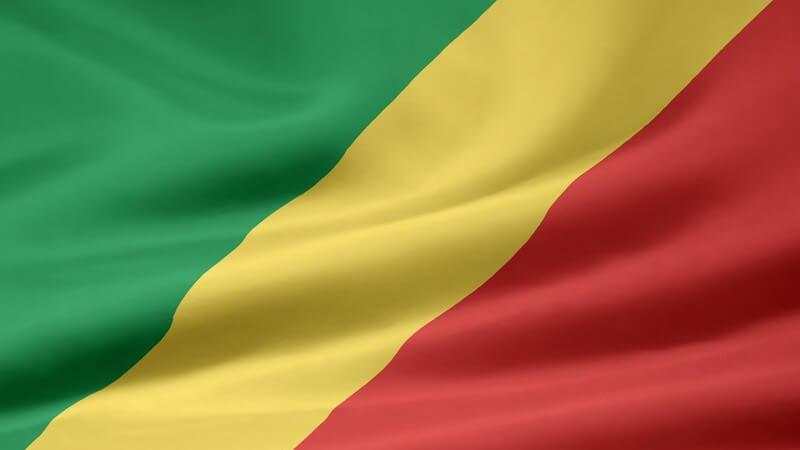 Flagge der Republik Kongo