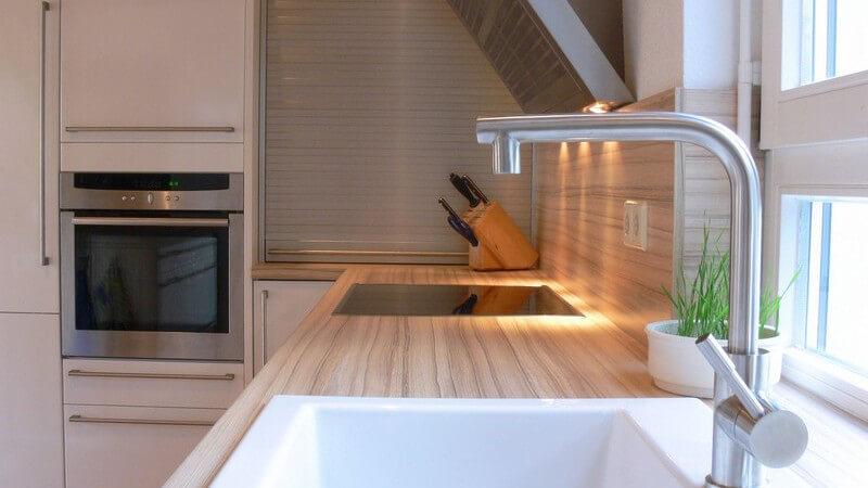 Einsicht moderne Küche
