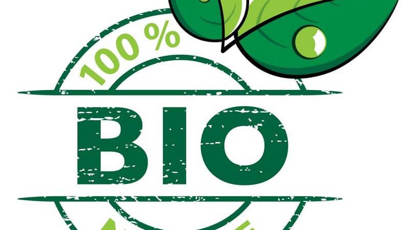 Zeichnung Bio, 100% Natur, weißer Hintergrund