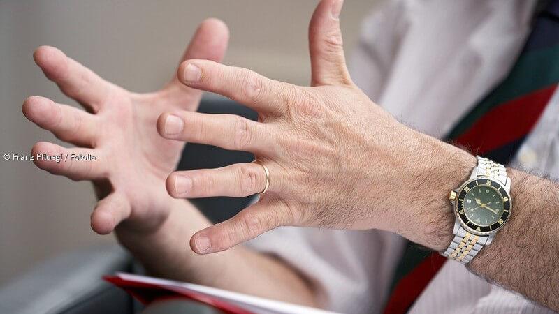 ᐅ Ein langer Ringfinger ist ein Zeichen für einen