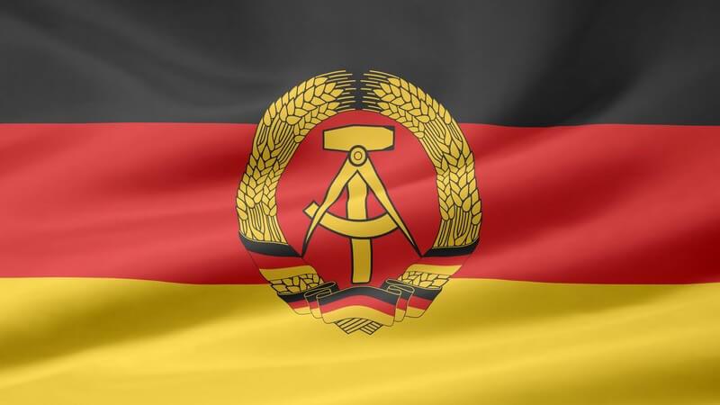 Flagge der DDR