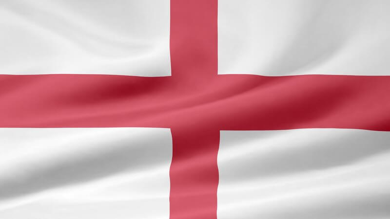 Flagge von England