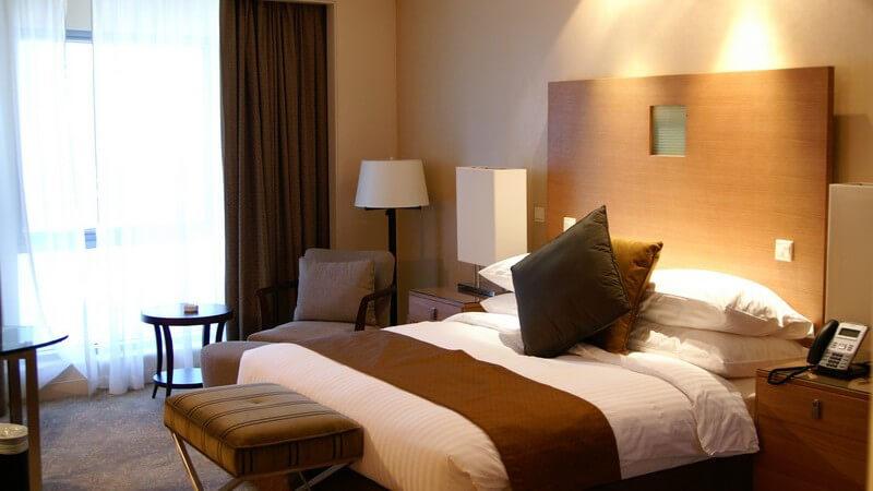 Einsicht Luxus-Hotelzimmer