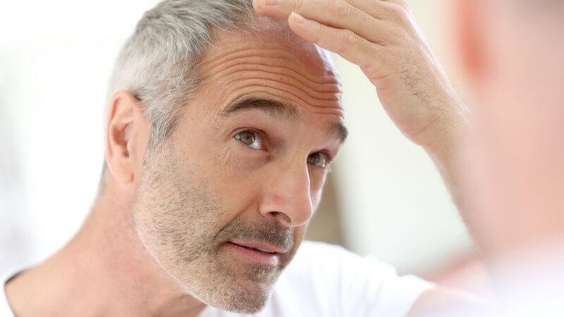 Färben graue mann haare Graue Haare