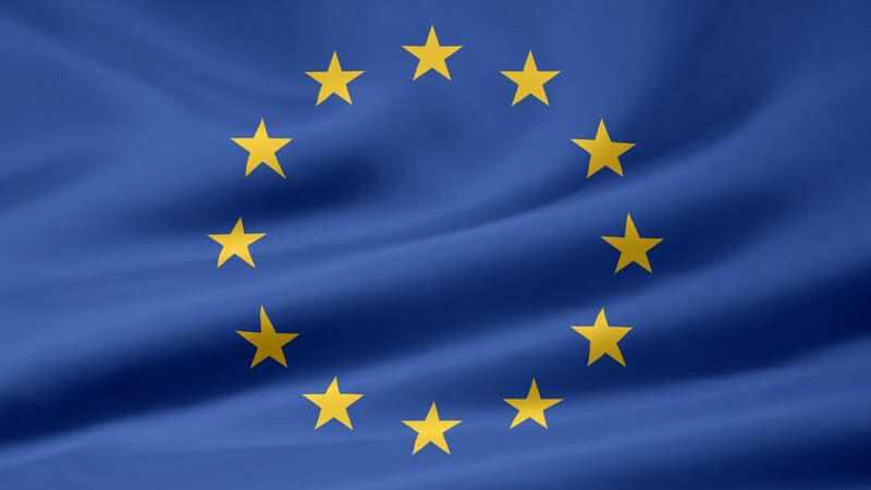 Flagge von Europa