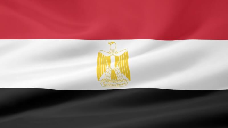 Flagge von Ägypten